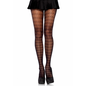 Leg Avenue Lace Keyhole Tights
