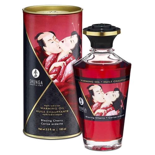 Shunga Blazing Cherry Olio Afrodisiaco