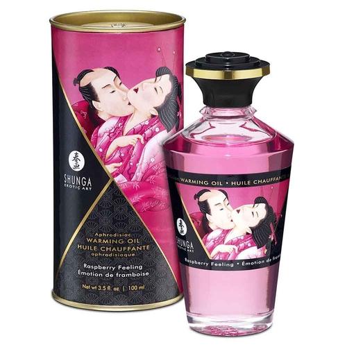 Shunga Raspberry Feeling Aphrodisiac Oil