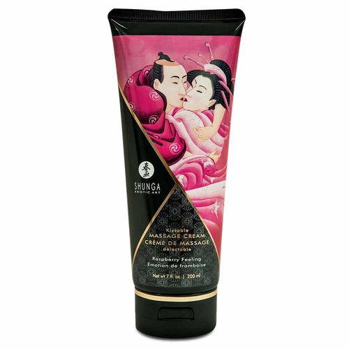 Shunga Raspberry Feeling Creme de Massagem