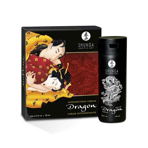 Shunga Dragon Crema para Masajes