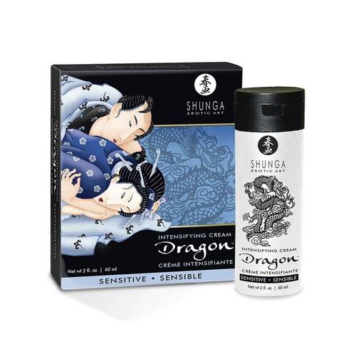 Shunga Dragon Sensitive Crema para Masajes