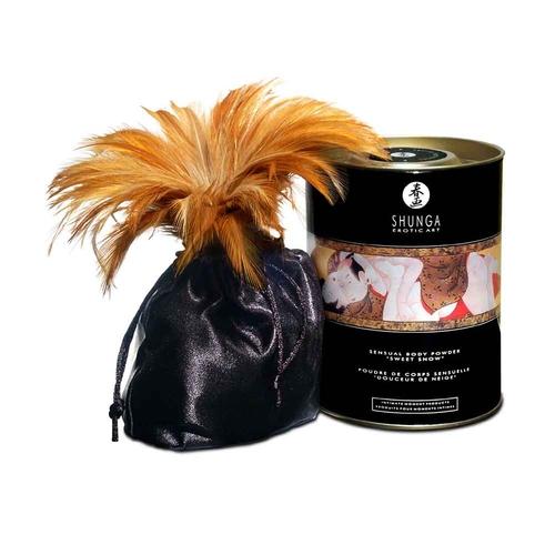 Shunga Sweet Snow Body Powder Honey of the Nymphs Polvere Commestibile
