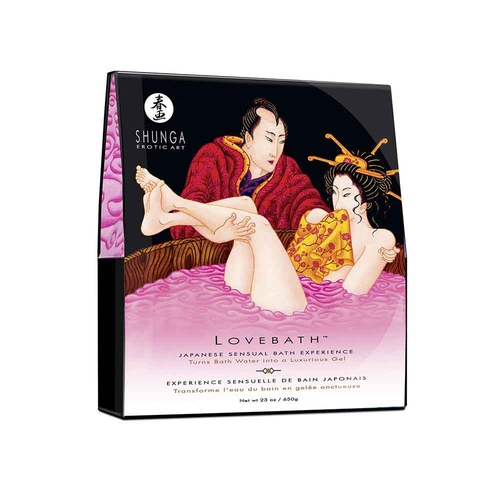 Shunga Lovebath Dragon Fruit Bath Salts