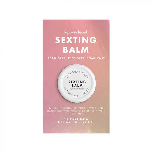 Bijoux Indiscrets Clitoral Balm Sexting Balm Bálsamo para el Clítoris