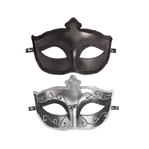 Fifty Shades of Grey Conjunto de Duas Máscaras Masquerade