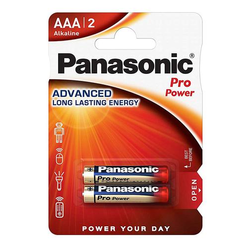 Panasonic Pro Power AAA (x2) Pile