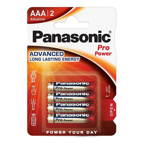 Panasonic Pro Power AAA (x4) Pilhas