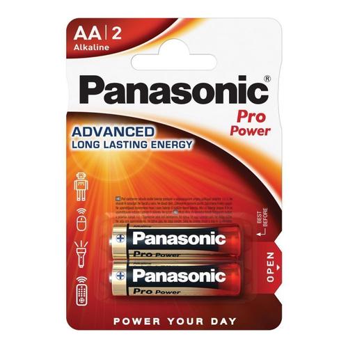 Panasonic Pro Power AA (x2) Pilas