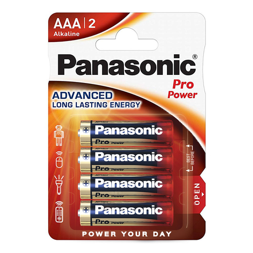 Panasonic Pro Power AA (x4) Pile