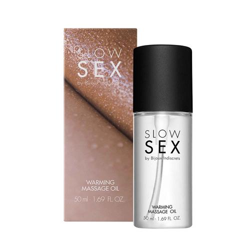 Bijoux Indiscrets Slow Sex Warming Massage Oil