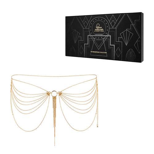 Bijoux Indiscrets The Magnifique Collection Oro Gioiello a Catena per Vita