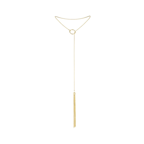 Bijoux Indiscrets The Magnifique Collection Dourado Colar Metálico com Tickler