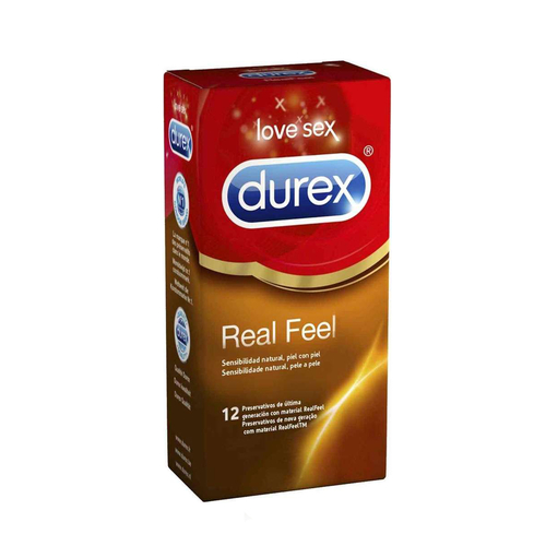 Durex Real Feel - 12 Unidades
